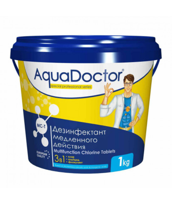 AquaDoctor MC-T 1 кг. (таблетки по 200 гр.)
