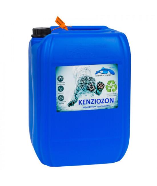 Жидкий дезинфектант на основе активного кислорода Kenaz Kenziozon 30 л.