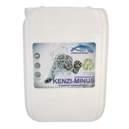 Жидкое средство для снижения уровня pH Kenaz Kenzi-Minus (солянокислый 14%) 30 л.