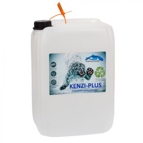 Жидкое средство для повышения уровня pH Kenaz Kenzi-Plus 30 л.