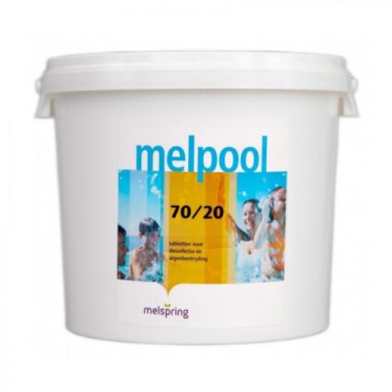 Melpool N.X 70/20 25 кг. в таблетках