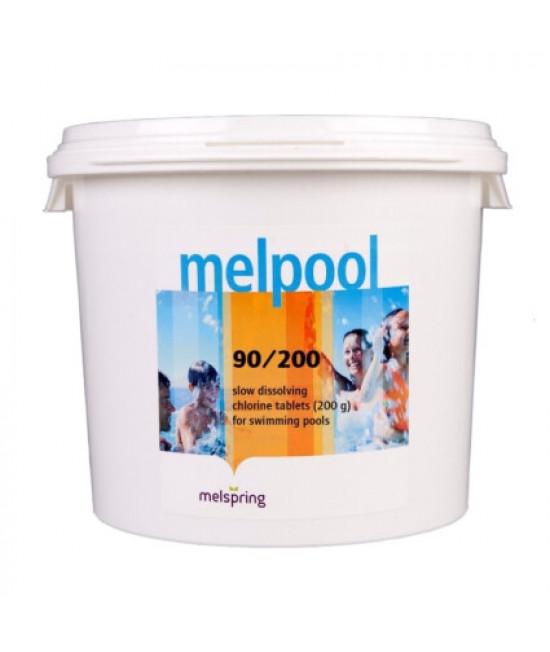 Дезинфектант для бассейна на основе хлора Melpool 90/200 50 кг.