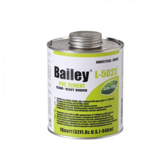Клей для труб ПВХ Bailey L-5023 946 мл (большие диаметры)