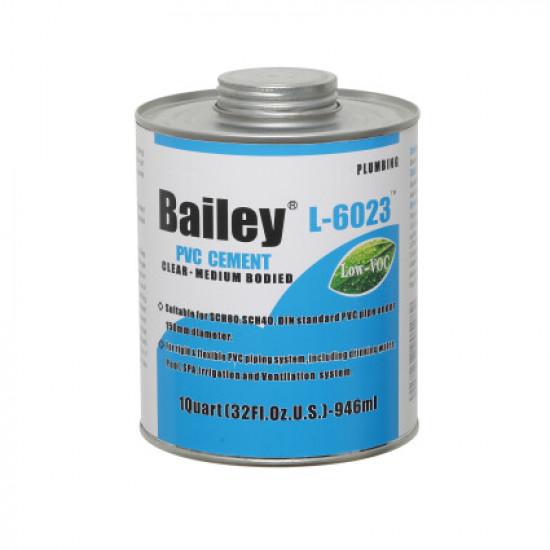 Клей для труб ПВХ Bailey L-6023  4000 мл