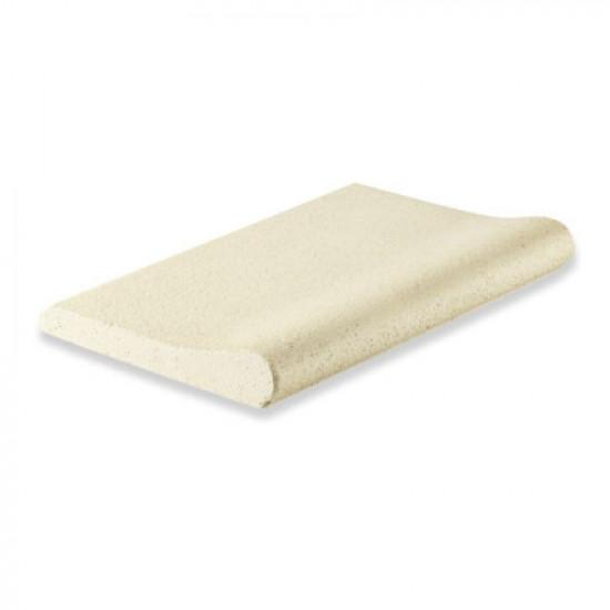 Копинговый камень Carobbio Rustic 50x30,5 см, микроперфорированная поверхность, песочный