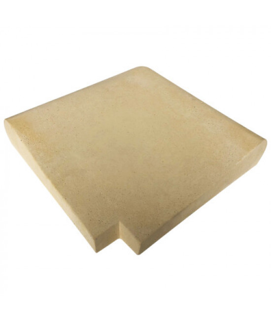 Внешний угловой копинговый камень Carobbio Expo, песочный