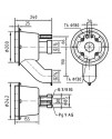 Закладной короб Fitstar 7613050 для Taifun Duo, 240 мм