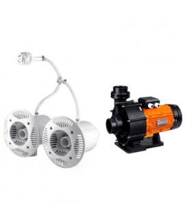 Противоток для бассейна AquaViva AV-JET-5.5DT Kit (380В, 68 м3/ч, 5.5HP)