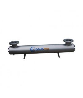 Ультрафиолетовая установка Aquaviva AVUF77T, до 85 м3, DN125 1.2кВт (7шт/155Вт)