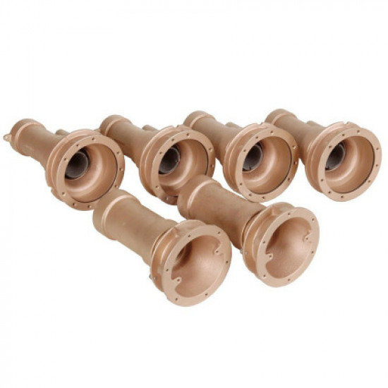 Проходы стеновые Fitstar 8620050 для Combi-Whirl, 4 форсунки, 2 водозабор, 240 мм