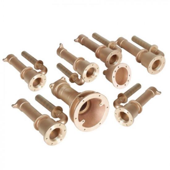 Проходы стеновые Fitstar 8696250 для Standard , 6 форсунки, 1 водозабор, 1 невмокнопка, 240 мм