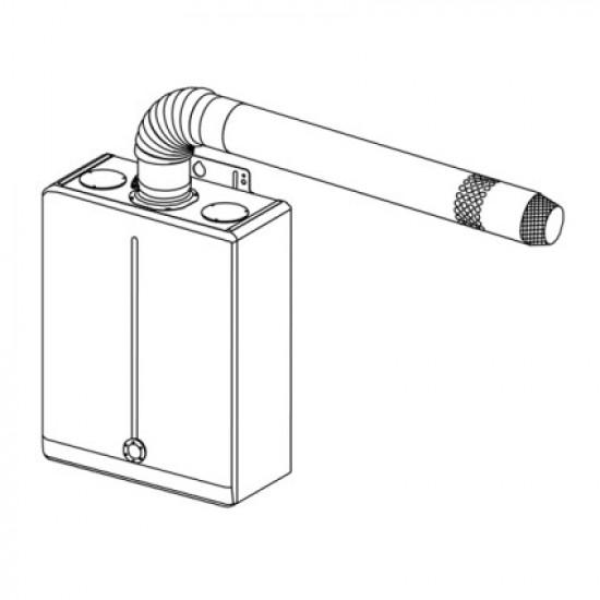 Дымоход Daewoo Евро коаксиальный 110/80 (80C)