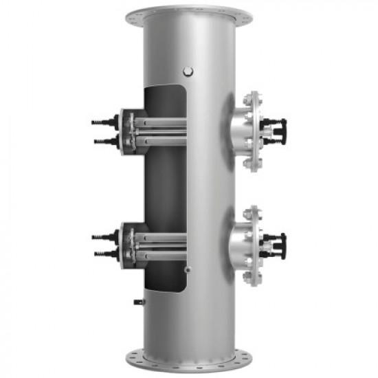 Ультрафиолетовая установка LIfetech Eco (315 м3/ч, DN300, 3х2 кВт), ручная очистка