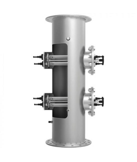 Ультрафиолетовая установка LIfetech Eco (385 м3/ч, DN300, 4х2 кВт), ручная очистка