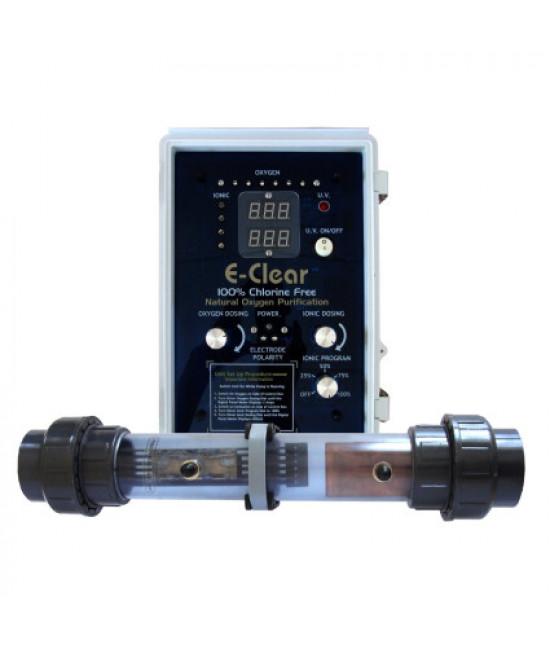 Бесхлорная система дезинфекции воды E-CLEAR MK7/CF1-150