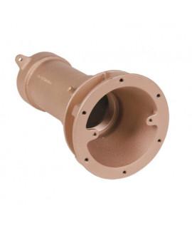 Проход стеновой Fitstar 3021051 из бронзы, ВР 2/1 1/2,240 мм, для морской воды