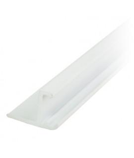 L-образный профиль ПВХ Nexus для переливной решетки (20 мм)