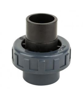 Муфта ПВХ Kripsol разборная клей вн.-клей нар. EHS10 50.C, диаметр 50 мм.