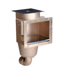 Скиммер Fitstar 1262020 бетон, квадратная крышка, 2, бронза