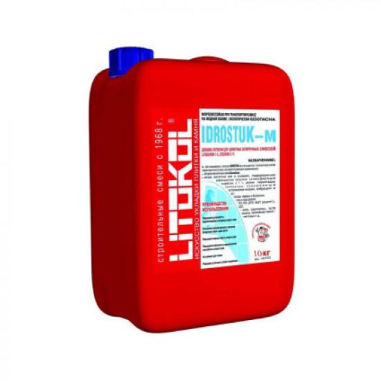 Добавка к цементной затирочной смеси IDROSTUK-м (канистра) 10 л