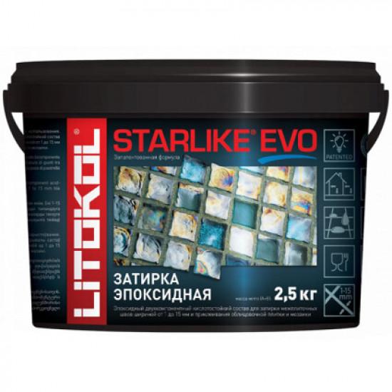 Затирочная смесь Litokol STARLIKE EVO Bianco Titanio S.105, 2.5 кг