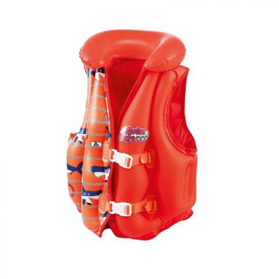 Жилет для плавания Bestway 32156 красный (51 x 46 см)