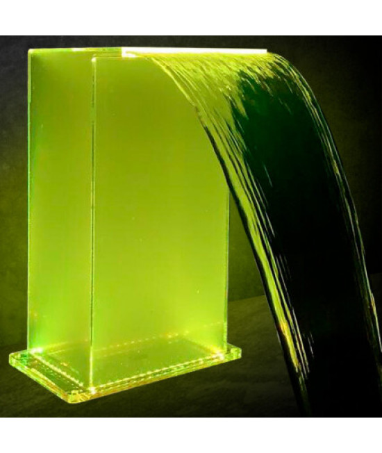 Водопад Aquaviva Г-образный (600х300 мм), RGB LED