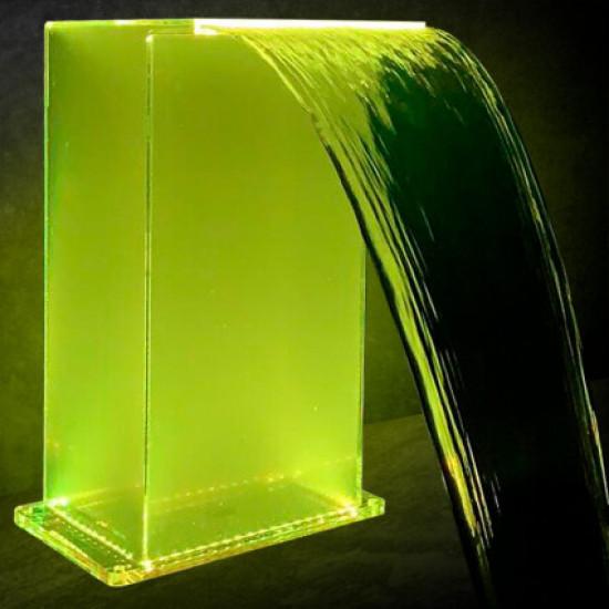 Водопад Aquaviva Г-образный (700х500 мм), RGB LED