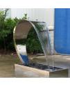 Водопад Aquaviva Кобра AISI 304 (700х500 мм), 1.5