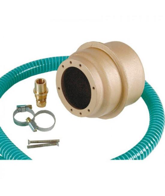Закладная (ниша) Fitstar 4250050, для прожекторов гал. 50-Вт и LED 4х3 Вт