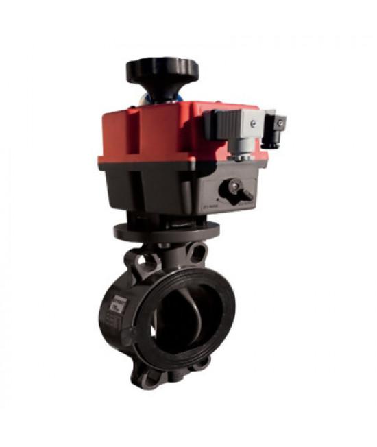Дисковый затвор ProFlow Serie P EFFAST d125/140 мм (FDREPFHY140V) с уплотнением FPM