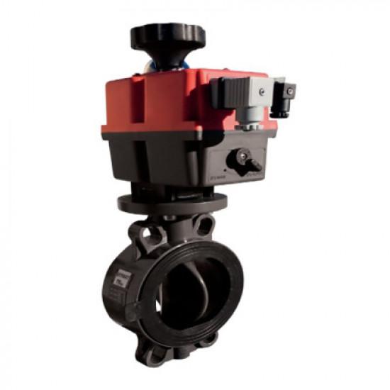 Дисковый затвор ProFlow Serie P EFFAST d75 мм (FDREPFHY075V) с уплотнением FPM